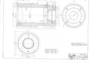 Проектиране на Хидравличен Цилиндър